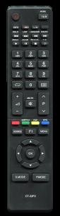 TOSHIBA CT-32F2 [LCD, LED TV] пульт ДУ  для телевизора - магазин Remote - Фото 1