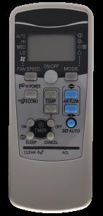 MITSUBISHI HEAVY RKX502A001 пульт для кондиционера [Conditioner] пульт ДУ для кондиционеров - магазин Remote - Фото 1