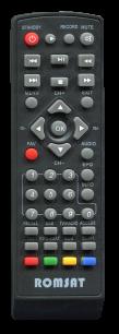 ROMSAT T2020 / ROMSAT T2 ULTRA [DVB-T2] пульт ДУ Т2 тюнера - магазин Remote - Фото 1