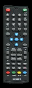 GOLDSTAR T2 8830HD [DVB-T2] пульт ДУ Т2 тюнера - магазин Remote - Фото 1