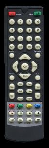 LUMAX DVT2-4110HD [DVB-T2] пульт ДУ Т2 тюнера - магазин Remote - Фото 1