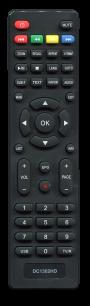 D-COLOR DC1302 HD [DVB-T2] пульт ДУ Т2 тюнера - магазин Remote - Фото 1