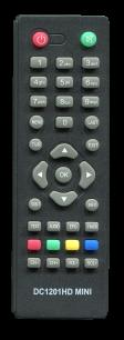 D-COLOR DC1201 HD [DVB-T2] пульт ДУ Т2 тюнера - магазин Remote - Фото 1