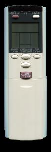 FUJITSU AR-DL1 / GENERAL AR-DL4  [Conditioner] оригинальный пульт ДУ для кондиционеров - магазин Remote - Фото 1