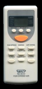 CHIGO RM-8015Y универсальный пульт ДУ для кондиционера для кондиционеров - магазин Remote - Фото 1