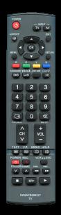 PANASONIC N2QAYB000227 [PLAZMA, LCD TV] пульт ДУ  для телевизора - магазин Remote - Фото 1