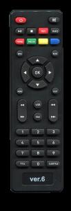 ORIEL ПДУ - 6 / ORIEL 6 ver.6 /  ORIEL 6 [DVB-T2] пульт ДУ Т2 тюнера - магазин Remote - Фото 1