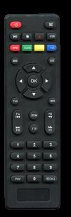 PANTESAT HD-2258 [DVB-T2] пульт ДУ Т2 тюнера - магазин Remote - Фото 1