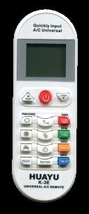 HUAYU A/C K-3E (5000 код.) [UNIVERSAL for Conditioner] пульт ДУ для кондиционеров - магазин Remote - Фото 1
