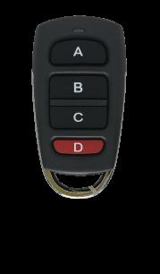 GEO7+ универсальный обучаемый постоянный код [RF UNIVERSAL] оригинальный пульт ДУ для ворот и шлагбаумов - магазин Remote - Фото 1