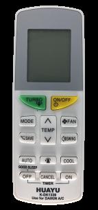 DAIKIN K-DK1339 универсальный пульт ДУ для кондиционера для кондиционеров - магазин Remote - Фото 1