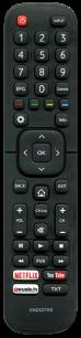 HISENSE EN2X27HS [TV] пульт ДУ  для телевизора - магазин Remote - Фото 1