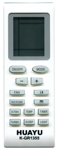 HUAYU GREE K-GR1355  универсальный [UNIVERSAL for Conditioner] оригинальный пульт ДУ для кондиционеров - магазин Remote - Фото 1