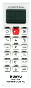 HUAYU HITACHI K-HT676  универсальный [UNIVERSAL for Conditioner] оригинальный пульт ДУ для кондиционеров - магазин Remote - Фото 1