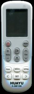 HUAYU SAMSUNG K-SM1356  универсальный [UNIVERSAL for Conditioner] оригинальный пульт ДУ для кондиционеров - магазин Remote - Фото 1