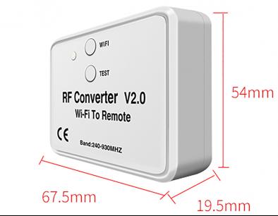 WV6956 WI-FI универсальный постоянный и плавающий код  (240-868 MHz) [RF UNIVERSAL] пульт ДУ для ворот и шлагбаумов - магазин Remote - Фото 1