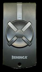 Beninca T2WV 2CH 433 MHz плавающий код [RF] оригинальный пульт ДУ для ворот и шлагбаумов - магазин Remote - Фото 1