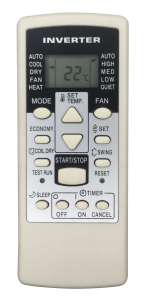 FUJITSU AR-RCG2J [Conditioner] оригинальный пульт ДУ для кондиционеров - магазин Remote - Фото 1