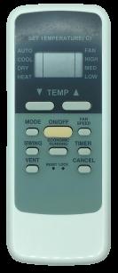 MIDEA R51/E пульт для кондиционера [Conditioner] пульт ДУ для кондиционеров - магазин Remote - Фото 1