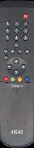 AKAI RC-N1A [TV] пульт ДУ  для телевизора - магазин Remote - Фото 1