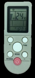 AUX YKR-F06Y YKR-F-001 YKR-F-09R010  пульт ДУ для кондиционера для кондиционеров - магазин Remote - Фото 1
