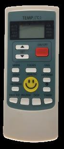 AUX YKR-H/209E пульт для кондиционера [Conditioner] пульт ДУ для кондиционеров - магазин Remote - Фото 1