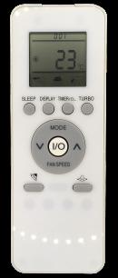 GALANZ GZ-39GB пульт ДУ для кондиционера для кондиционеров - магазин Remote - Фото 1