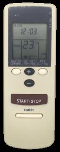 FUJITSU AR-AB18 пульт ДУ для кондиционера для кондиционеров - магазин Remote - Фото 1