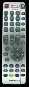 SHARP AQUOS SHW-RMC-0116N RF  [TV] оригинальный пульт ДУ  для телевизора - магазин Remote - Фото 1