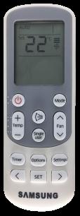 SAMSUNG DB93-15882Q пульт для кондиционера [Conditioner] пульт ДУ для кондиционеров - магазин Remote - Фото 1