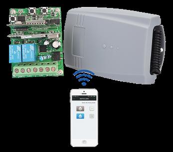 Приемник внешний REC-2V.2+WI-FI Professional  433MHz [RF UNIVERSAL] для управления автоматикой ворот и шлагбаумами любых производителей для ворот и шлагбаумов - магазин Remote - Фото 1