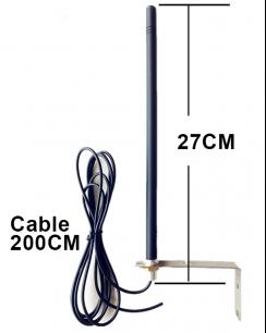 BVA433 антенна внешняя 433.92 Mhz  для ворот и шлагбаумов [ANT] для усиления дальности сигнала пультов для ворот и шлагбаумов - магазин Remote - Фото 1