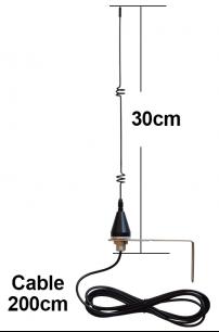RF868 антенна внешняя 868 Mhz  для ворот и шлагбаумов [ANT] для усиления дальности сигнала пультов для ворот и шлагбаумов - магазин Remote - Фото 1
