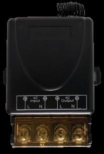 D1801-220V дистанционный выключатель света универсальный 433MHz  под любой пульт ДУ с постоянным  кодом для ворот и шлагбаумов - магазин Remote - Фото 1