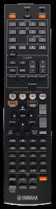 YAMAHA RAV491 [A/V RECEIVER] оригинальный пульт ДУ для музыкальных центров и аудио техники - магазин Remote - Фото 1