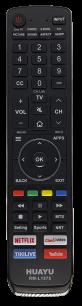 HUAYU HISENSE RM-L1575 LCD SMART TV  универсальный [UNIVERSAL] оригинальный пульт ДУ  для телевизора - магазин Remote - Фото 1