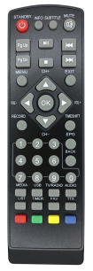 NOVA HD  [DVB-T2] пульт ДУ Т2 тюнера - магазин Remote - Фото 1