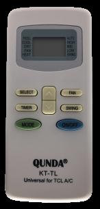 QUNDA KT-TL for TCL-BALLU универсальный программируемый [UNIVERSAL for Conditioner] пульт ДУ для кондиционеров - магазин Remote - Фото 1