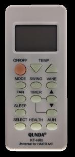 QUNDA KT-HR(||) for HAIER универсальный программируемый [UNIVERSAL for Conditioner] пульт ДУ для кондиционеров - магазин Remote - Фото 1