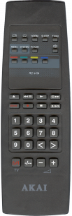 AKAI RC-V7A [TV] пульт ДУ  для телевизора - магазин Remote - Фото 1