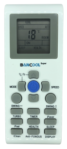AUX YKR-P/001E пульт для кондиционера [Conditioner] пульт ДУ для кондиционеров - магазин Remote - Фото 1