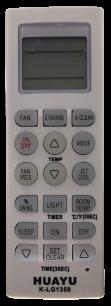 HUAYU LG K-LG1358  универсальный [UNIVERSAL for Conditioner] оригинальный пульт ДУ для кондиционеров - магазин Remote - Фото 1