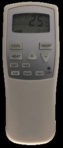 CHULAN CL3 пульт ДУ для кондиционера для кондиционеров - магазин Remote - Фото 1