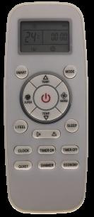 HISENSE DG11-L3 пульт для кондиционера [Conditioner] пульт ДУ для кондиционеров - магазин Remote - Фото 1