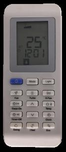 Electrolux YAK1F пульт ДУ для кондиционера для кондиционеров - магазин Remote - Фото 1