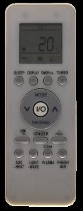 GALANZ GZ-39GB-002 пульт ДУ для кондиционера для кондиционеров - магазин Remote - Фото 1