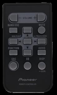 PIONEER CD-R310 [AUTO] пульт ДУ для автомагнитол автомобильных TV/DVD систем - магазин Remote - Фото 1
