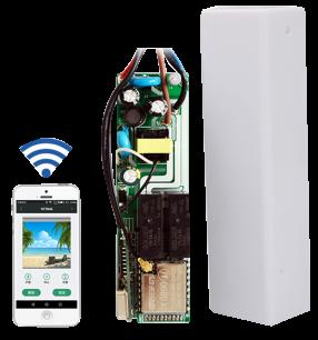 Приемник внешний REC-V.846+WI-FI Professional  433MHz [RF UNIVERSAL] для управления автоматикой защитных ролет любых производителей для ворот и шлагбаумов - магазин Remote - Фото 1
