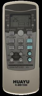 HUAYU MITSUBISHI K-MB1550 универсальный [UNIVERSAL for Conditioner] оригинальный пульт ДУ для кондиционеров - магазин Remote - Фото 1