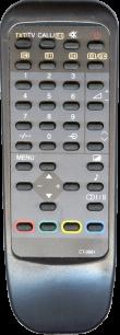 TOSHIBA CT-9881 [TV] пульт ДУ  для телевизора - магазин Remote - Фото 1